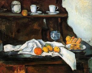 Paul Cezanne - Il Buffet