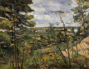 Paul Cezanne - L Oise Valley 1