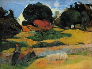 Paul Gauguin - Il guardiano dei porci