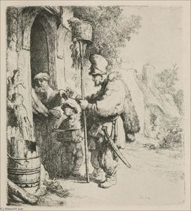 Rembrandt Van Rijn - The Rat Killer