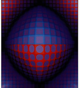 Victor Vasarely - B OE LEGN