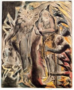 William Blake - Sogni Job s male