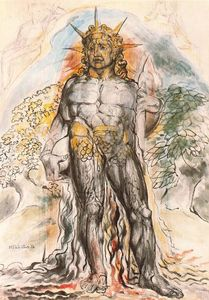 William Blake - il certo di umano storia `personified`