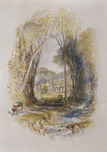 William Turner - Chiefswood Cottage a Abbotsford