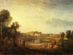 William Turner - Pope's Villa , a twickenham