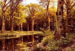 Peder Mork Monsted - Un Bosco  flusso
