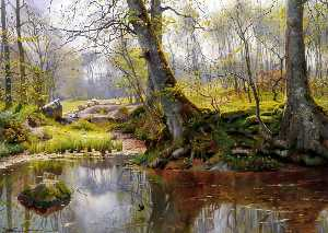 Peder Mork Monsted - Un Tranquillo Stagno