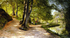 Peder Mork Monsted - Den Rode Paraply
