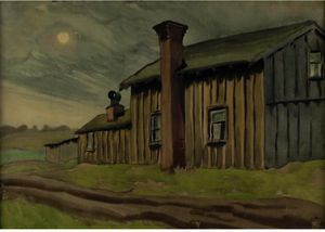Charles Ephraim Burchfield - Cieli Bleak