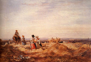 David Cox - In Hayfield