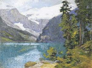 Edward Henry Potthast - Lake Louise, Canada