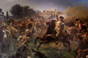 Emanuel Gottlieb Leutze - Washington Rallying le truppe a Monmouth