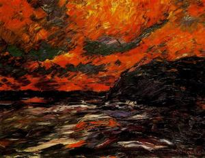 Emile Nolde - Sea in autunno IX