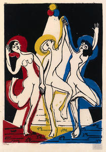 Ernst Ludwig Kirchner - colore danza