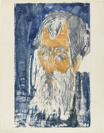 Padre Müller 1 di Ernst Ludwig Kirchner (1880-1938, Germany)