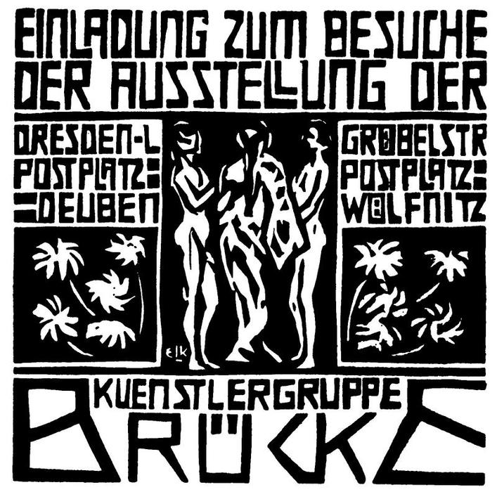 Invito di Ernst Ludwig Kirchner (1880-1938, Germany)