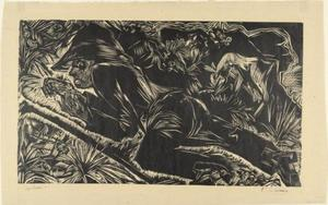 Ernst Ludwig Kirchner - Pastore a riposo