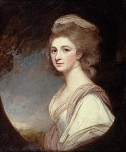 George Romney - La signorina Frances Mary Harford