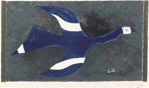 Georges Braque - Uccello 1