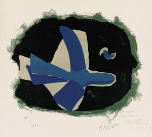 Georges Braque - foresta uccelli
