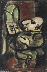 Georges Rouault - Il cantante Pere Ubu