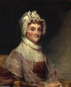 Gilbert Stuart - Abigail Adams Smith