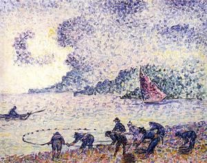 Henri Edmond Cross - Pescatore