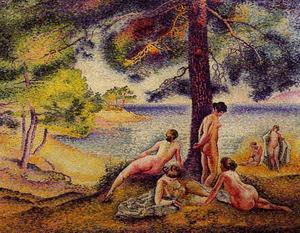 Henri Edmond Cross - The Shady Beach