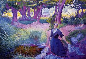 Henri Edmond Cross - La Lavandaia