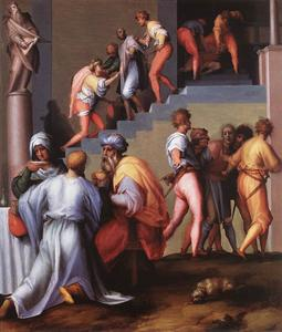 Jacopo Carucci (Pontormo) - punishment` del panettiere