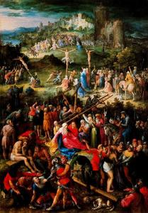 Jan Brueghel The Elder - Calvario