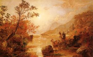 Jasper Francis Cropsey - Autunno in le highlands del Hudson