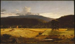 Jasper Francis Cropsey - bareford montagne , Ovest Milford , nel new jersey