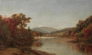 Jasper Francis Cropsey - monte washington , nel new hampshire