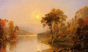 Jasper Francis Cropsey - Winding River