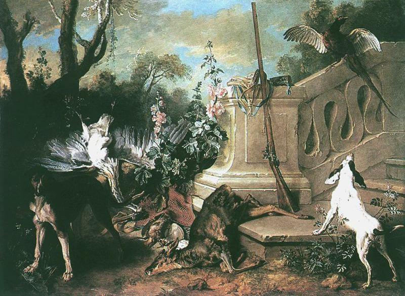 The Dead Roe di Jean-Baptiste Oudry (1686-1755, France)