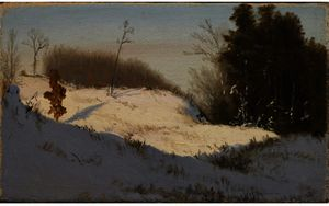 Jervis Mcentee - Inverno Luce del sole