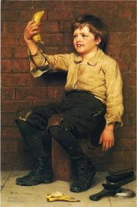 John George Brown - Banana Boy