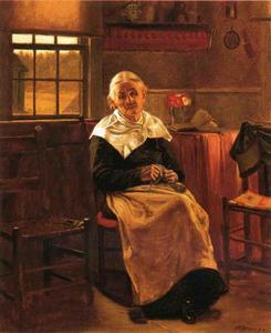 John George Brown - Dear Old nonna