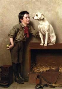 John George Brown - sua preferito animali da compagnia