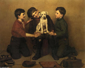 John George Brown - Il Foundling