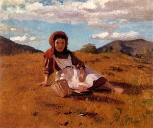 John George Brown - Il Picnic Basket