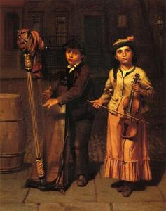 John George Brown - i due musicisti