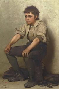 John George Brown - Thinking It Over
