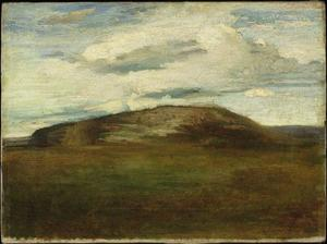 John La Farge - Autunno . Mid-Day , guardare nord , Table-Rock Collina , Peekskill , a new york