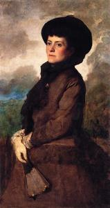 Jonathan Eastman Johnson - Ethel Eastman Johnson Conkling con ventilatore