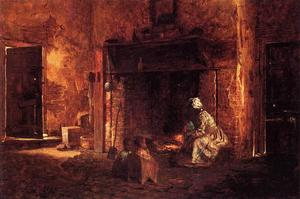 Jonathan Eastman Johnson - Cucina a Mount Vernon