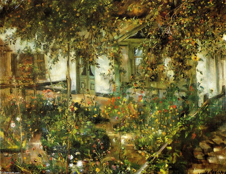 Aia in Bloom, olio su tela di Lovis Corinth (Franz Heinrich Louis) (1858-1925, Netherlands)
