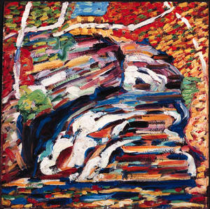 Marsden Hartley - autunno cascata  io
