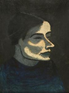 Milton Avery - russo donna